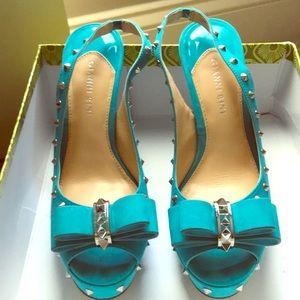 Shoes - Gianni Bini SPIKEY Peep Toe Heels